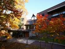 紅葉に包まれる秋の定山渓をお楽しみください。