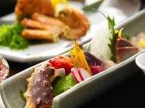 新鮮な蟹を様々なお料理で堪能してください(写真はイメージです)
