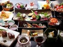 【ご夕食/和食懐石30,000円コース】当館で最もグレードの高いお料理~和にフレンチを織り交ぜた創作コース