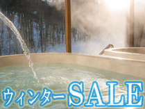 ★ウィンターSALE★1室最大3000円OFF♪この機会に是非、冬のリゾートをお楽しみください♪