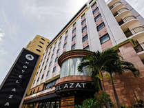 【HOTEL AZAT】正面玄関
