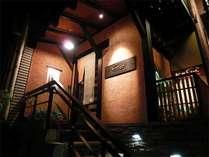 華水の小さな玄関「夜」