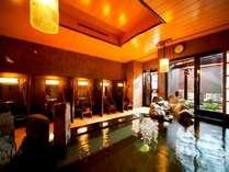 ◆天然温泉朝迄夜通し利用可能。アメニティ完備