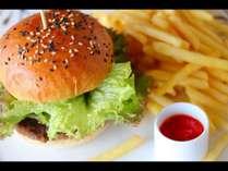 なかやま黒牛ハンバーガー