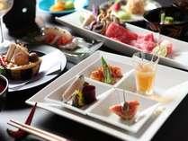 季節の岡山旬食材を活かした懐石料理プラン●貸切個室風呂(PH9.5)と選べる浴衣とクチコミ4.9の夕食