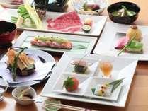 【懐石料理】岡山産の食材をふんだんに使用。