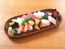 お料理・鮨プラス貝類か特大車海老 ★平日さらにお得★