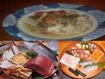 旬のお料理・鮨・酒蒸し料理超贅沢!・平日さらにお得