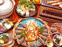 さ~あ!今年も蟹の季節がやってきました!!お腹いっぱいお召し上がり下さい!