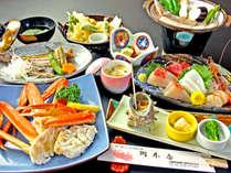 海の幸たっぷりの会席料理