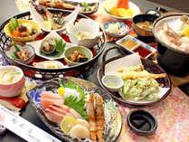 旬の鮮魚を満喫!海の幸づくし会席☆女将手作りのまごごころ込めたお料理でおもてなし致します♪(^^)