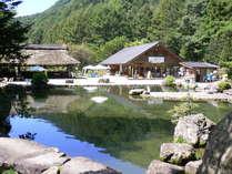 白根魚苑釣堀・日本庭園などお楽しみいただけます。