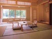 丸沼館のお部屋です。丸沼が目の前に広がる眺めの良いお部屋です。