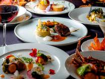 【ご夕食一例】質と品数をアップグレードさせた「グランデフルコース・プラン」秋