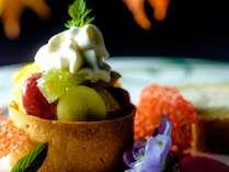 【ご夕食一例】ワンランク上の「グランデフルコース・プラン」秋メニューより デザートの一例