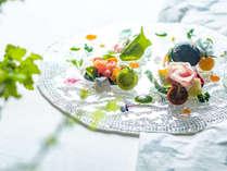 【夕食一例】グランデフルコース夏メニューよりアンティパストミスト