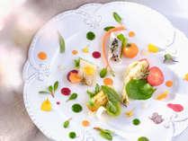 【夕食一例】グランデ-フルコース春メニューよりアンティパストミスト