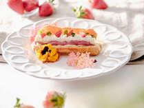 【夕食一例】グランデフルコース春メニューよりデセール