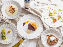 【夕食一例】グランデフルコース-春メニュー