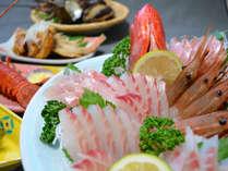 【料理一例】駿河湾で獲れたばかりの海の幸をご堪能あれ!
