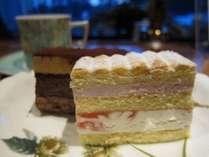 【ケーキセット付】ラウンジで優雅にリゾート気分満喫♪1泊2食白樺プラン