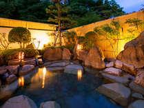 ■三瓶温泉-露天風呂-■晴れた日には満天の星空が愉しめます♪