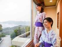 *【部屋】早朝好条件時は雲海がみられることも。景色を眺めてリラックス
