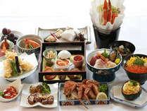 【さらに贅沢に】かえでプラン 地元食材使用の全12品!