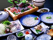 敦賀ふぐをお腹いっぱい!ふぐの贅沢フルコース★舟盛付★