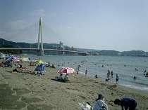 浜の宮海水浴場・・ポルトヨーロッパとなり・・ホテルから車で約5分