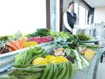新鮮なお野菜をしゃぶしゃぶで♪ミクラスの人気メニューの一つです。