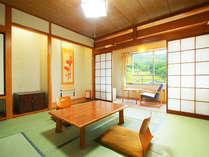 蔵王温泉スキー場のゲレンデが見える人気の和室です。(写真は一例です)