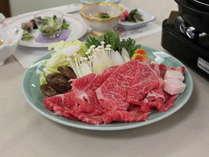 【産地直送】牛肉料理の定番!貴重★厳選!こだわりの『生』仕入れ!【蔵王牛】すき焼き&懐石風和食膳