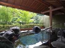 露天風呂「蛍の湯」内湯も併設しております。