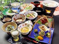 精進料理の極 大山のありがたい恵みを大いに味わってみてください