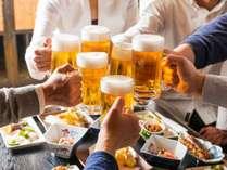 8月限定!ビール一杯無料!