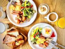 【朝食】ビュッフェ形式なので、もちろんおかわり自由♪