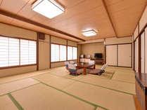 *大部屋(客室一例)/グループや三世代家族でのご宿泊に◎広々としたお部屋でのんびりとお寛ぎ下さい。