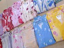 *浴衣/浴衣・カラー浴衣はロビーにご用意しております。