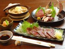 御夕食は居酒屋「游月」でお召し上がりください。当館からの送迎付きです!