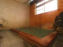 当館自慢の内湯は「湯畑源泉かけ流しの湯」です。