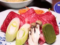 ■夕食お部屋食■【春グルメ松コース】和牛しゃぶ鍋・さわら白酒焼き・タラバガニと山菜の天ぷら