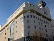 福島駅より徒歩5分の好立地♪AXCビルの8階がフロントです!