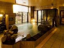 ◆男性内湯 【15:00~翌朝9:00まで夜通しでお入り頂けます。】
