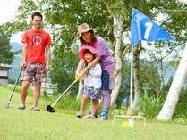 【グラウンド・ゴルフ】お子様でも楽しめます!