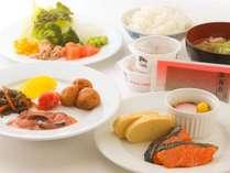 朝食バイキングの和食料理のイメージです
