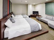 すべてのお部屋が23㎡以上で、広々と快適にお過ごしいただけます。