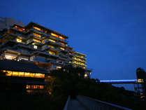 箕面観光ホテル夜