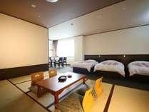 和洋室トリプル+和室一例,大阪府,大江戸温泉物語 箕面温泉 箕面観光ホテル