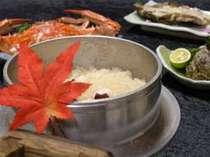 日間賀名産のタコを使ったタコ飯。